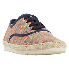 Buy Dune Frasier Espadrille Lace-Up Shoe Online at johnlewis.com