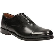 Buy Clark Coling Boss Oxford Shoe, Black Online at johnlewis.com