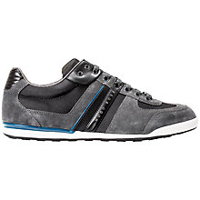 Buy HUGO BOSS Akeen Suede Trainers Online at johnlewis.com