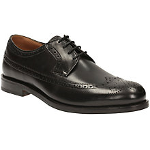 Buy Clarks Coling Limit Brogues, Black Online at johnlewis.com