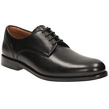 Buy Clarks Coling Walk Shoes, Black Online at johnlewis.com