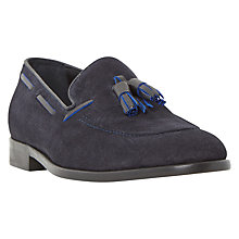 Buy Dune Riverside Leather Tassel Loafers Online at johnlewis.com