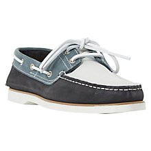 Buy Dune Boat Party Classic Leather Boat Shoes Online at johnlewis.com