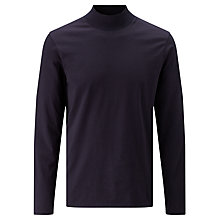 Buy Kin by John Lewis Turtle Neck Top, Navy Online at johnlewis.com