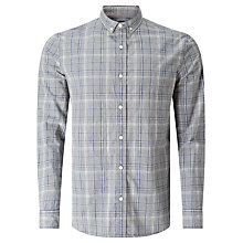 Buy JOHN LEWIS & Co. Melange Check Shirt, Grey Online at johnlewis.com