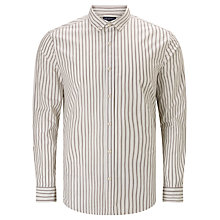 Buy JOHN LEWIS & Co. Vintage Stripe Shirt, Port Online at johnlewis.com