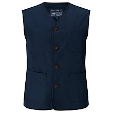 Buy JOHN LEWIS & Co. Made in Manchester Waistcoat, Navy Online at johnlewis.com