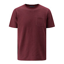 Buy Kin by John Lewis Birdseye Crew Neck T-Shirt Online at johnlewis.com