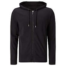 Buy Kin by John Lewis Full Zip Hoodie, Black Online at johnlewis.com