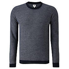 Buy Kin by John Lewis Merino Blend Stripe Jumper, Navy Online at johnlewis.com