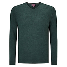 Buy John Lewis Made in Italy Merino Wool V-Neck Jumper Online at johnlewis.com