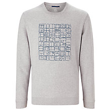 Buy Kin by John Lewis Embroidered Front Sweatshirt, Grey Online at johnlewis.com