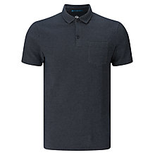Buy Kin by John Lewis Birdseye Polo Shirt, Dark Navy Online at johnlewis.com