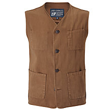 Buy JOHN LEWIS & Co. Made in Manchester Waistcoat, Brown Online at johnlewis.com