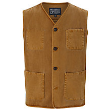 Buy JOHN LEWIS & Co. Made in Manchester Waistcoat, Gold Online at johnlewis.com