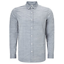 Buy Kin by John Lewis Dobby Chambray Shirt, Blue Online at johnlewis.com