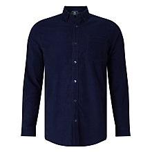 Buy John Lewis Needle Cord Shirt, Navy Online at johnlewis.com