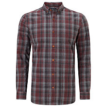 Buy JOHN LEWIS & Co. Melange Check Shirt, Red Online at johnlewis.com