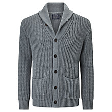 Buy JOHN LEWIS & Co. Slub Cotton Shawl Neck Cardigan Online at johnlewis.com