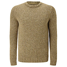 Buy JOHN LEWIS & Co. Alpaca Rich Crew Neck Jumper, Brown Online at johnlewis.com