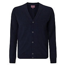 Buy John Lewis Made in Italy Merino Cardigan, Navy Online at johnlewis.com