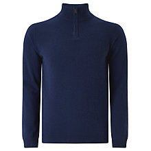 Buy John Lewis Made in Italy Cashmere Zip Jumper Online at johnlewis.com