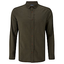 Buy JOHN LEWIS & Co. Mouline B.D. Shirt, Khaki Online at johnlewis.com
