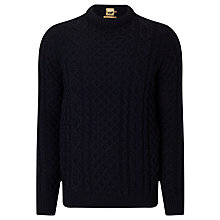 Buy JOHN LEWIS & Co. Made in England Cable Knit Merino Jumper Online at johnlewis.com