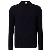 Buy JOHN LEWIS & Co. Made in England Moss Stitch Merino Jumper Online at johnlewis.com