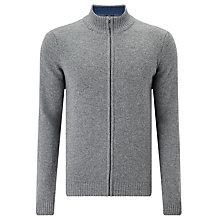 Buy John Lewis Made in Italy Merino Cashmere Full Zip Jumper Online at johnlewis.com