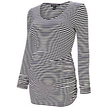 Buy Isabella Oliver Arlington Maternity Top, Navy/White Online at johnlewis.com