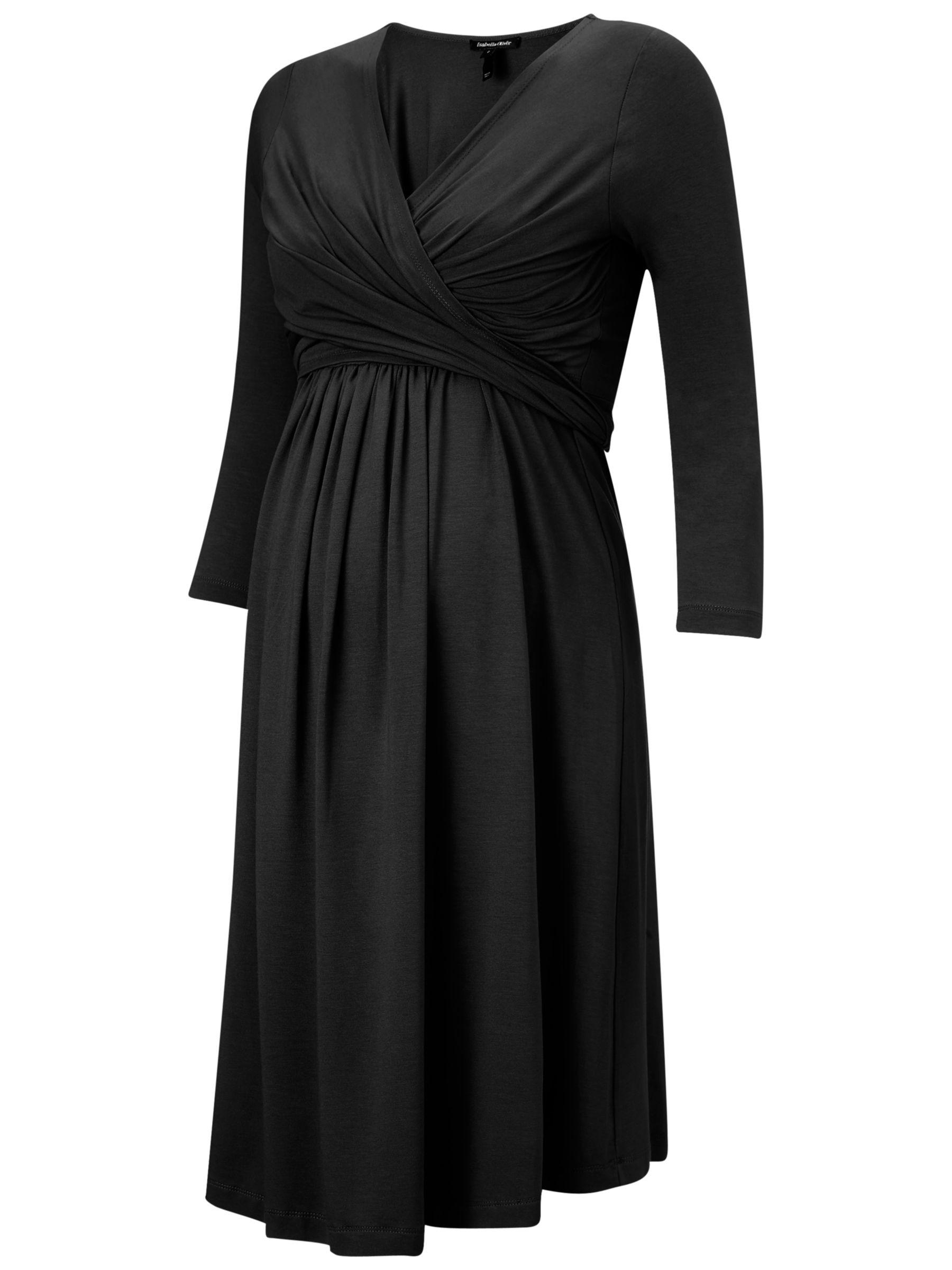 Isabella Oliver Isabella Oliver Emily Maternity Dress, Caviar Black