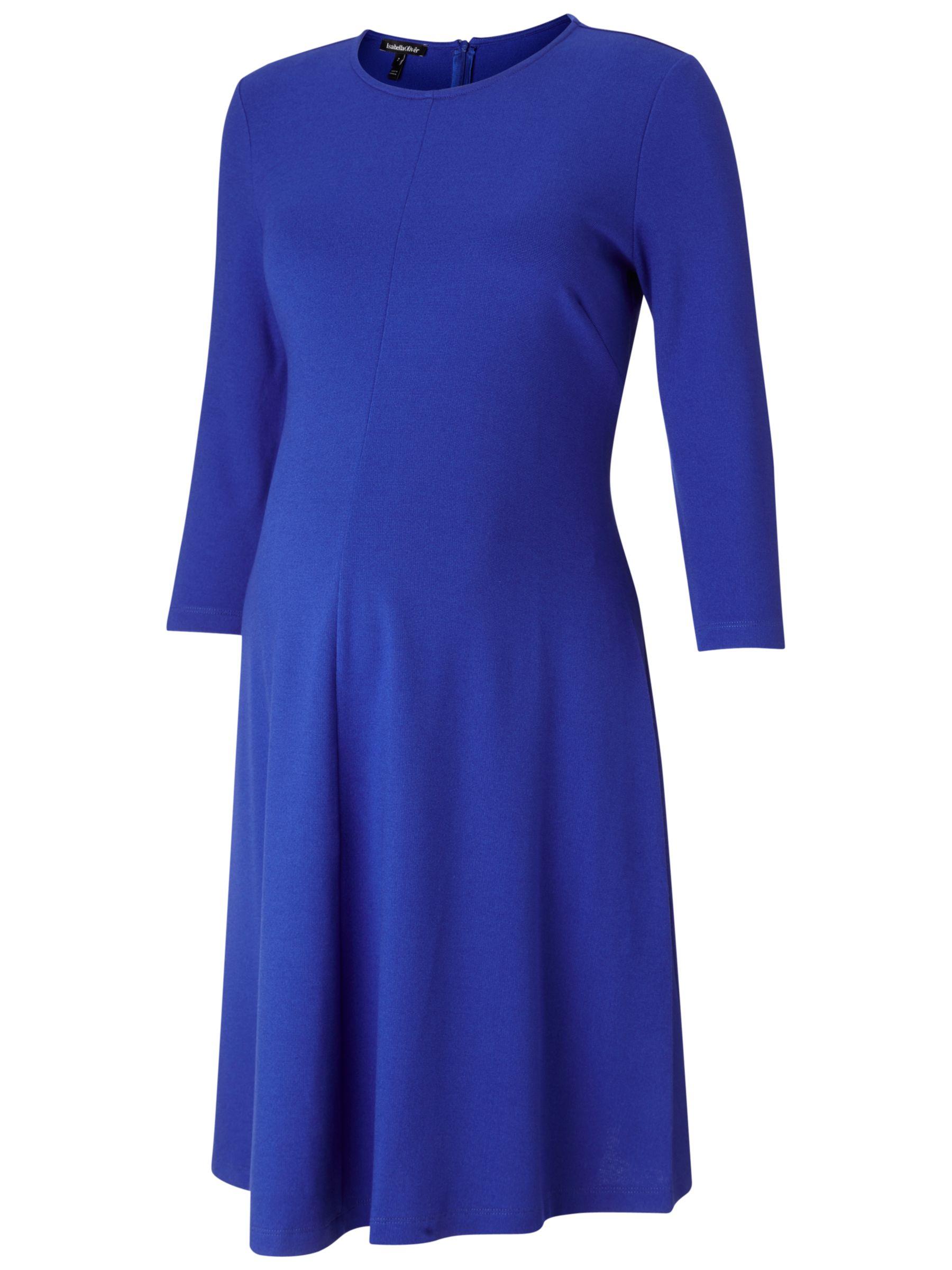 Isabella Oliver Isabella Oliver Bayswater Maternity Dress, Sapphire Blue