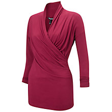 Buy Isabella Oliver Avebury Maternity Nursing Top, Claret Online at johnlewis.com