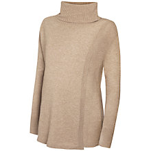 Buy Séraphine Akira Roll Neck Maternity Nursing Jumper, Camel Online at johnlewis.com