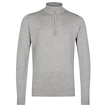 Buy John Smedley Tapton Half Zip Merino Jumper Online at johnlewis.com
