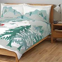 Buy John Lewis Chamonix Mountain Scene Duvet Cover Set Online at johnlewis.com