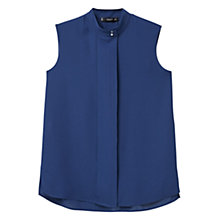 Buy Mango Sleeveless Flowy Blouse Online at johnlewis.com