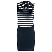 Buy French Connection Manhattan Sleeveless Jersey Dress, Multi Online at johnlewis.com
