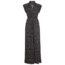 Buy French Connection Shadow Maxi Tie Dress, Confetti Grid Online at johnlewis.com