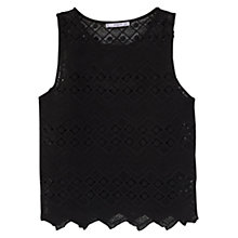 Buy Mango Openwork Top Online at johnlewis.com