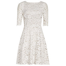 Buy Reiss Missie Lace Fit And Flare Dress Online at johnlewis.com