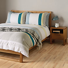 Buy John Lewis Skyler Stripe Duvet and Pillowcase Set Online at johnlewis.com