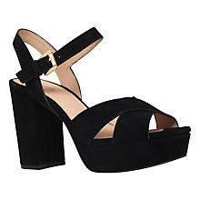 Buy MICHAEL Michael Kors Divia Block Heeled Platform Sandals Online at johnlewis.com