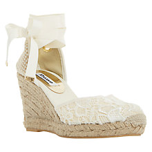 Buy Dune Kloss Espadrille Wedge Sandals Online at johnlewis.com
