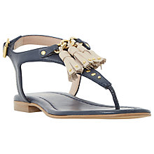 Buy Dune Laviniya Toe Post Sandals Online at johnlewis.com