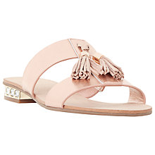 Buy Dune Newberr Slip On Tassel Sandals Online at johnlewis.com