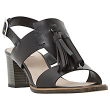 Buy Dune Ingrid Tassel Block Heeled Sandals Online at johnlewis.com