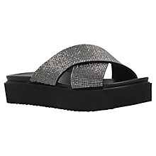 Buy Carvela Krypton Flatform Sandals, Black/Comb Online at johnlewis.com