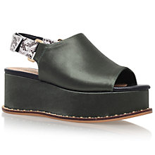 Buy KG by Kurt Geiger Niko Flatform Sandals Online at johnlewis.com